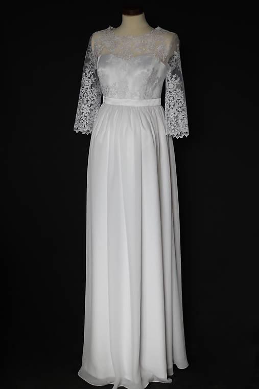 b310a96c0c0d Svadobné šaty pre tehotné nevesty   Dyona - SAShE.sk - Handmade Šaty