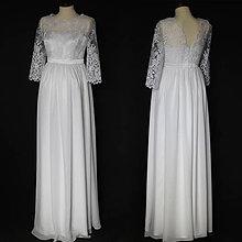 Šaty - Svadobné šaty pre tehotné nevesty - 9000014_