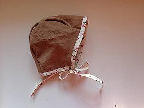 Detské čiapky - čiapka čepčeková dvojvrstvová