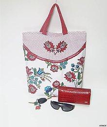 Nákupné tašky - Nákupná taška - folk - 9000976_