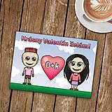 Papiernictvo - Personalizovaná valentínka - 8999718_