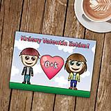 Papiernictvo - Personalizovaná valentínka - 9001025_
