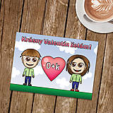 Papiernictvo - Personalizovaná valentínka - 9002143_