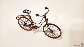 Dekorácie - Bicykel retro - 9005764_