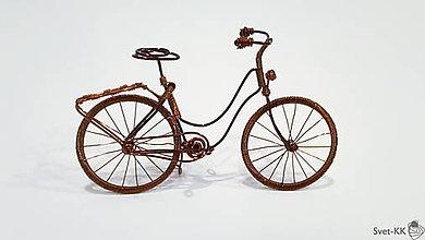 Dekorácie - Bicykel retro - 9006403_