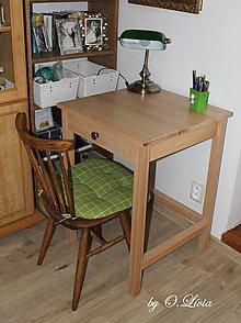 Nábytok - Pracovný stolík pod notebook  BUK - 9006338_