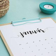 Papiernictvo - Kalendár na rok 2018 (tlačená verzia) (A4) - 9003470_