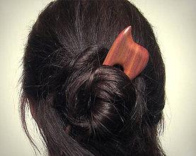 Ozdoby do vlasov - Drevená ihlica na počkanie, 3-5 dní - 9006266_
