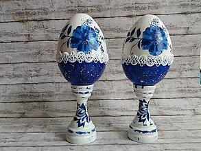 Dekorácie - Veľkonočné vajíčko so stojanom - 9005165_