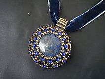 Náhrdelníky - Náhrdelník-Lapis Lazuri - 9004835_