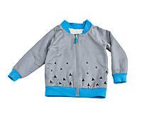 Detské oblečenie - Obojstranná bomberka VINCENT sivá - 9006608_