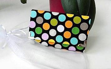 Peňaženky - Peňaženka farebné botky - 9005259_