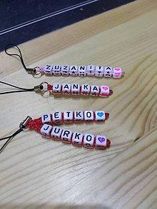 Kľúčenky - Klucenky s menami - 9004083_