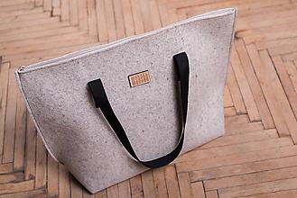 Veľké tašky - Big weekend bag - crema - 9006206_