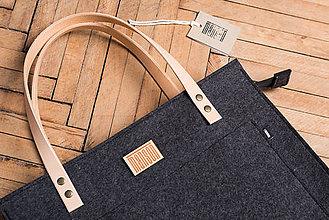 Kabelky - Dámska taška - natur leather straps - 9006246_