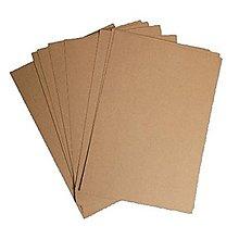 Papier - kraft papier A5 alebo A4 - sada 10 ks - 9005840_