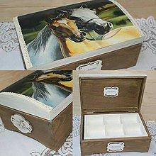 Krabičky - na želanie pre milovníčku koní - 9005060_