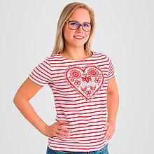 Tričká - Dámske tričko Májofka NEW - 9005680_