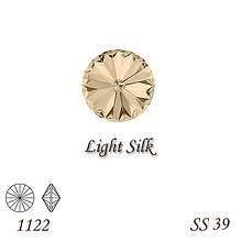 Korálky - SWAROVSKI® ELEMENTS 1122 Rivoli - Light Silk, SS 39(8mm), bal.1ks - 9006500_