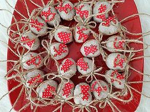 Dekorácie - Vianočné oriešky - dekorácie. - 9003881_