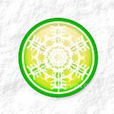 Dekorácie - Vločkové citrusy - grafika na zdobenie koláčov - 9006255_
