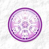 Dekorácie - Vločkové citrusy - grafika na zdobenie koláčov - 9006258_