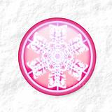 Dekorácie - Vločkové citrusy - grafika na zdobenie koláčov - 9006259_