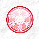 Dekorácie - Vločkové citrusy - grafika na zdobenie koláčov - 9006260_