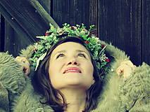 Ozdoby do vlasov - lesná víla  - 9010436_