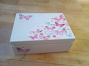 Krabičky - Lovely Butterflies - 9007412_