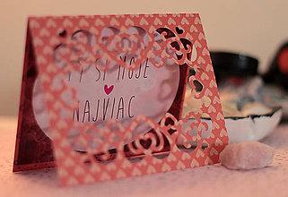 Papiernictvo - Si moje najviac/ nielen Valentínske - 9008986_