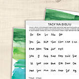 Papiernictvo - Tagy na Bibliu - malé (jednoduché) - 9010400_