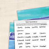 Papiernictvo - Tagy na Bibliu - veľké (jednoduché) - 9010446_
