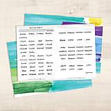 Papiernictvo - Tagy na Bibliu - veľké (krasopisné) - 9010454_