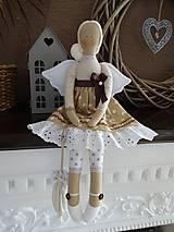 Bábiky - Hnedý anjel - 9008835_