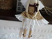 Bábiky - Hnedý anjel - 9008844_