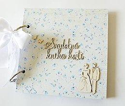 Papiernictvo - svadobná kniha hostí - 9007578_