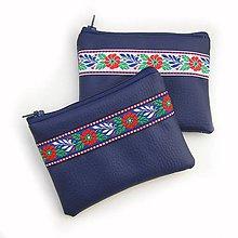 Peňaženky - Peňaženka Modrá Folklór - 9009407_