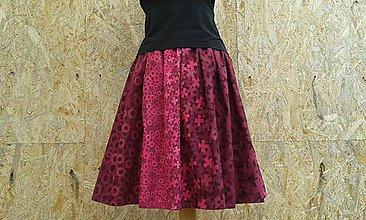 Sukne - Skládaná sukně na míru - 9007445_