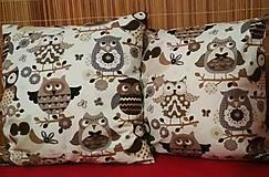 Úžitkový textil - Obliečka - sovičky - 9009813_
