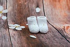 Topánočky - Biele letné papučky EXTRA FINE - 9008244_