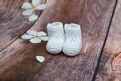 Topánočky - Biele letné papučky EXTRA FINE - 9008246_