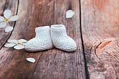 Topánočky - Biele letné papučky EXTRA FINE - 9008249_