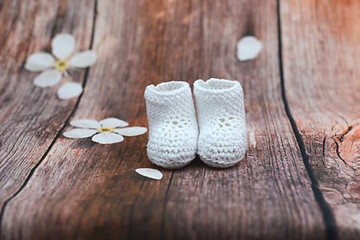 Biele letné papučky EXTRA FINE