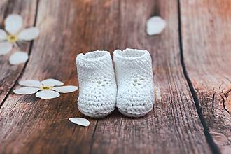 Topánočky - Biele letné papučky EXTRA FINE - 9008245_