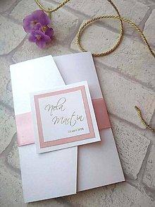 Papiernictvo - Svadobné oznámenie 710 - 9008216_