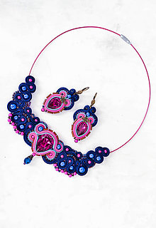Sady šperkov - Marseille - sada (náhrdelník a náušnice) - 9008382_