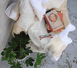 Úžitkový textil - Provensálska hrubšia deka - 9008689_