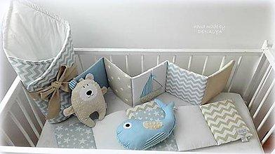 Hračky - Veľrybka s jemnou hrkálkou - 9011538_