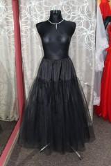 Sukne - Tylova spodnička čierna - 9012939_
